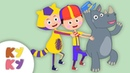 МЕТРО - Кукутики - Песенка мультик для детей про Поезд и Метро