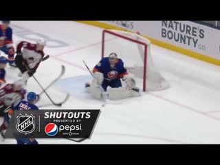 Semyon Varlamov came up huge for the @NYIslanders in his 32-save @pepsi shutout.