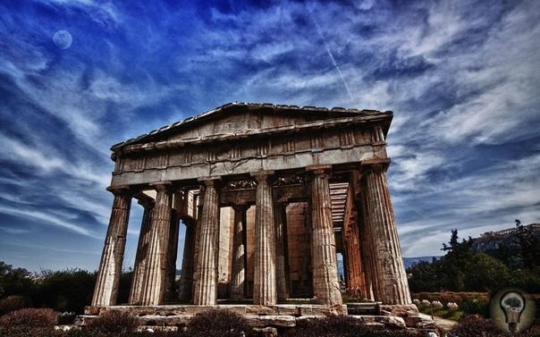 Парфенон: храм покровительницы городов Во все времена люди строили для боговых красивых храмов. В Древней Греции богов было много, поэтому им возводили непросто храмы, а настоящие города. «Город