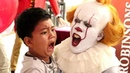 Pennywise Terrifies Audience inside The House of Mirrors (Robinsons Movieworld, Galleria)