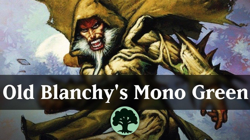 Old Blanchy's Mono Green Historic Artisan Deck Guide MTG ARENA