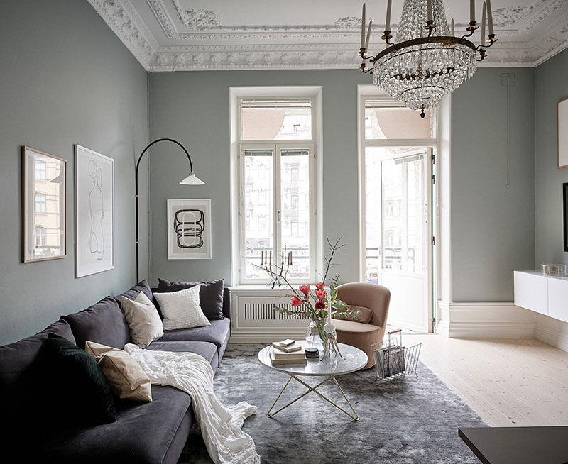 Красивая жизнь в старом доме в Гетеборге (80 кв.