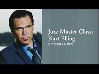 Jazz Masterclass with Kurt Elling