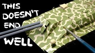 Let's Paint a German Camouflage BY BRUSH | Rutscher | Das Werk 1/35