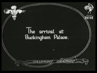Homecoming of Edward VIII (1922)