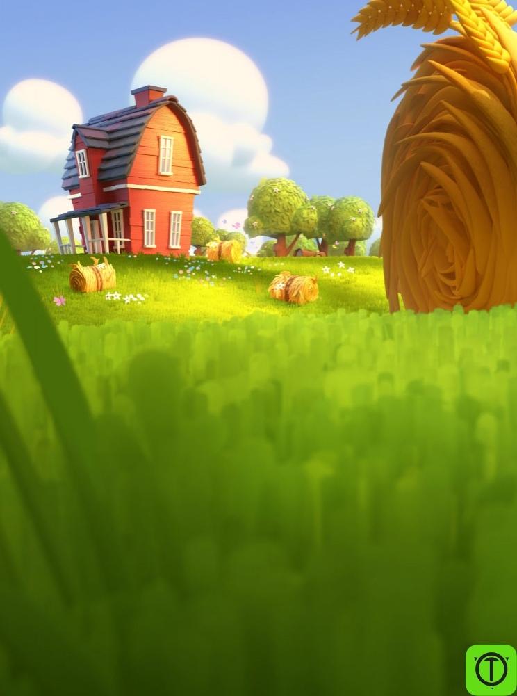 Там у Supercell вышла игра новая, Hay Day