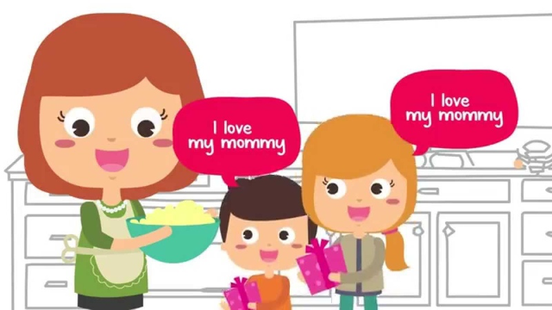 I Love My Mommy Mother's Day Song for Kids Happy Mothers Day Song The Kiboomers