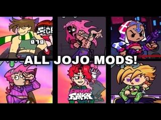 Friday Night Funkin' | All JoJo Mods!