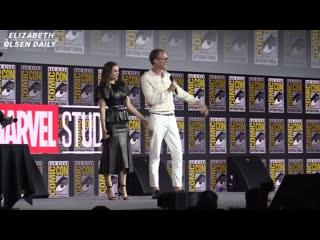 Презентация сериала ВандаВижен в рамках фестиваля Comic-Con | 20 июля 2019 (русские субтитры)