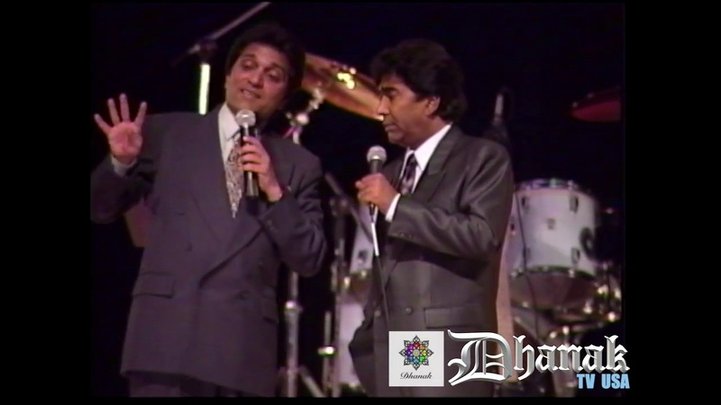 Best Comedy of Moin Akhter with Malik Anokha Live from Miami Dhanak TV USA