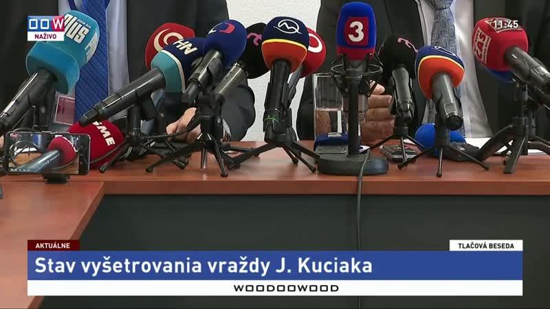 Stav vyšetrovania vraždy J. Kuciaka | 19.8.2019