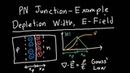 PN Junction Example: Depletion Width, E-Field