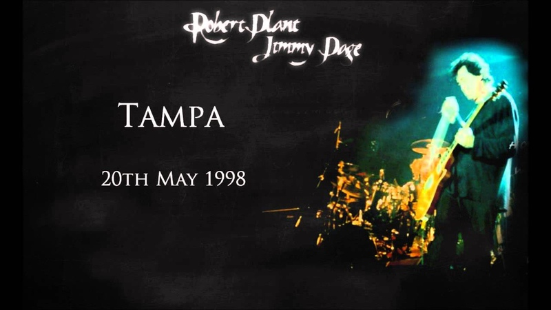 Jimmy Page Robert Plant Live in Tampa