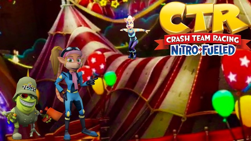 🎡Crash Team Racing Nitro Fueled Neon Circus Grand Prix 🎡