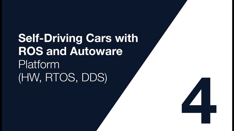 Autoware Course Lecture 4 Platform HW RTOS and DDS