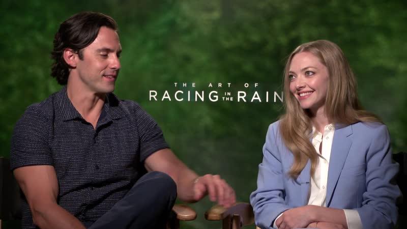 Интервью для Hollywood XYZ в рамках промоушена фильма Искусство гонок под дождём в Лос Анджелесе США 03 08 19