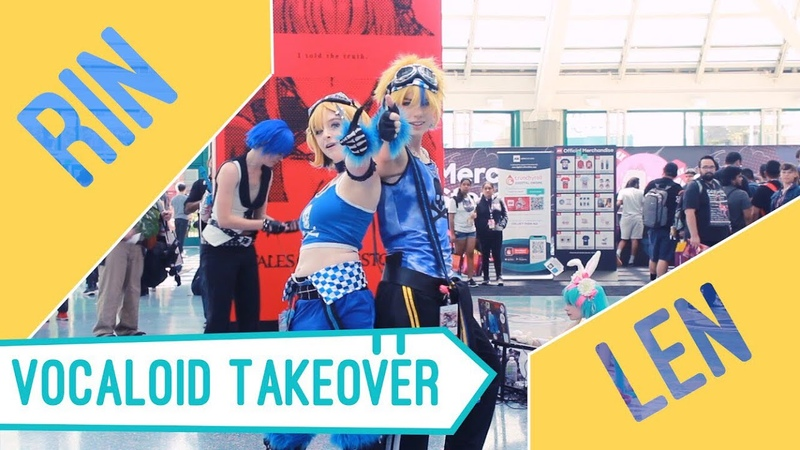 【Kagamine Rin Len】Bring It On【Anime Expo】【Cosplay Dance Cover】