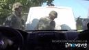 Обстрел колонны ВСУ от первого лица Бегство командира Березы