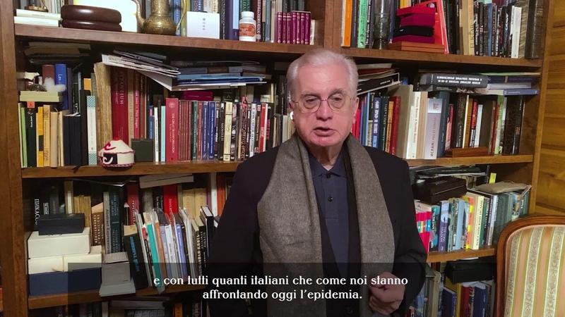 Messaggio del direttore generale del Museo Statale Ermitage Michail Piotrovsky agli amici italiani