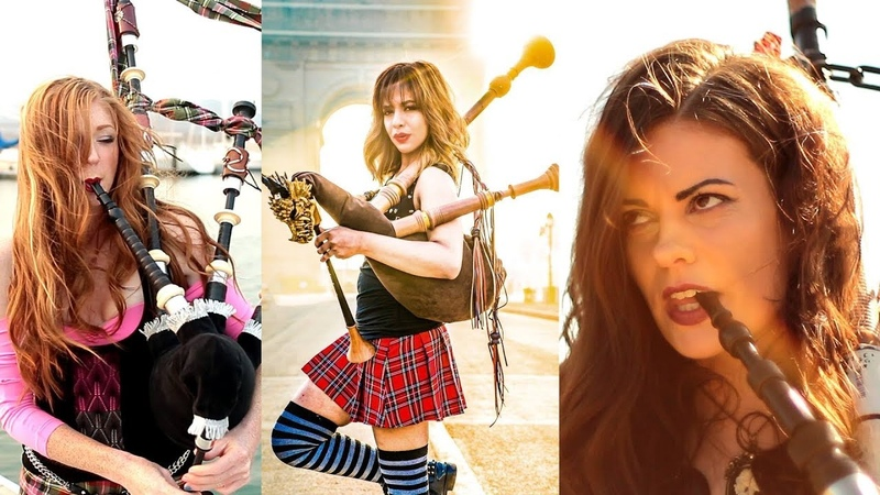 Shipping Up To BostonEnter Sandman - Bagpipe Cover (Goddesses of Bagpipe x The Snake Charmer)