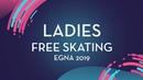 Yeonjeong Park (KOR)   Ladies Free Skating   Egna-Neumarkt 2019
