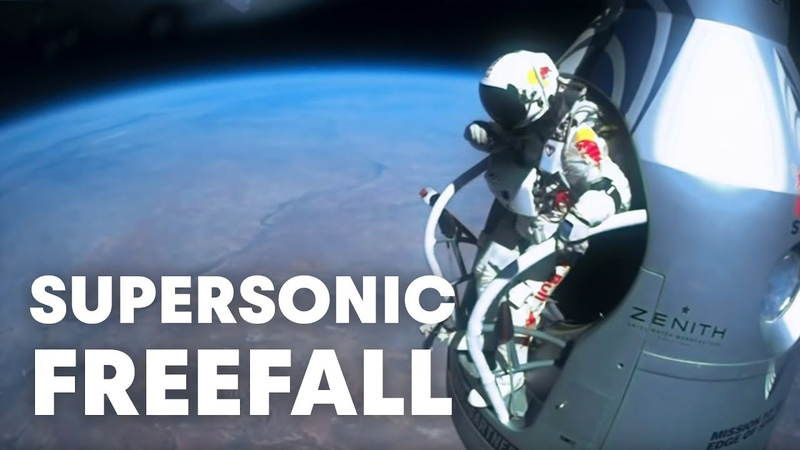 Felix Baumgartner's supersonic freefall from 128k' Mission Highlights