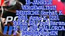 18-JÄHRIGE VERGEWALTIGT! DEUTSCHE Serhat K.(23), Azad K. (22), Yakub (21) AUF MALLORCA festgenommen