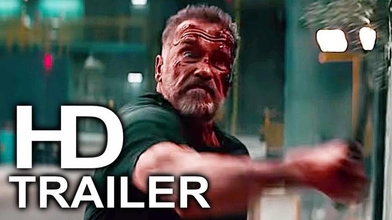 TERMINATOR 6 DARK FATE Red Band Trailer (2019) Arnold Schwarzenegger Action Movie HD