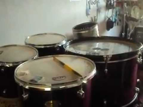 SLIPKNOT WAIT AND BLEED PERCUSION SHAWN COVER