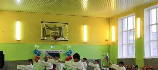В школе №7 Нижнего Тагила открыли отремонтированный спортивный зал