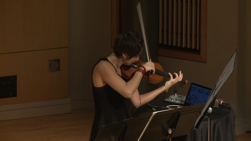 Kaija Saariaho. Frises for Violin and Electronics. Laura Colgate