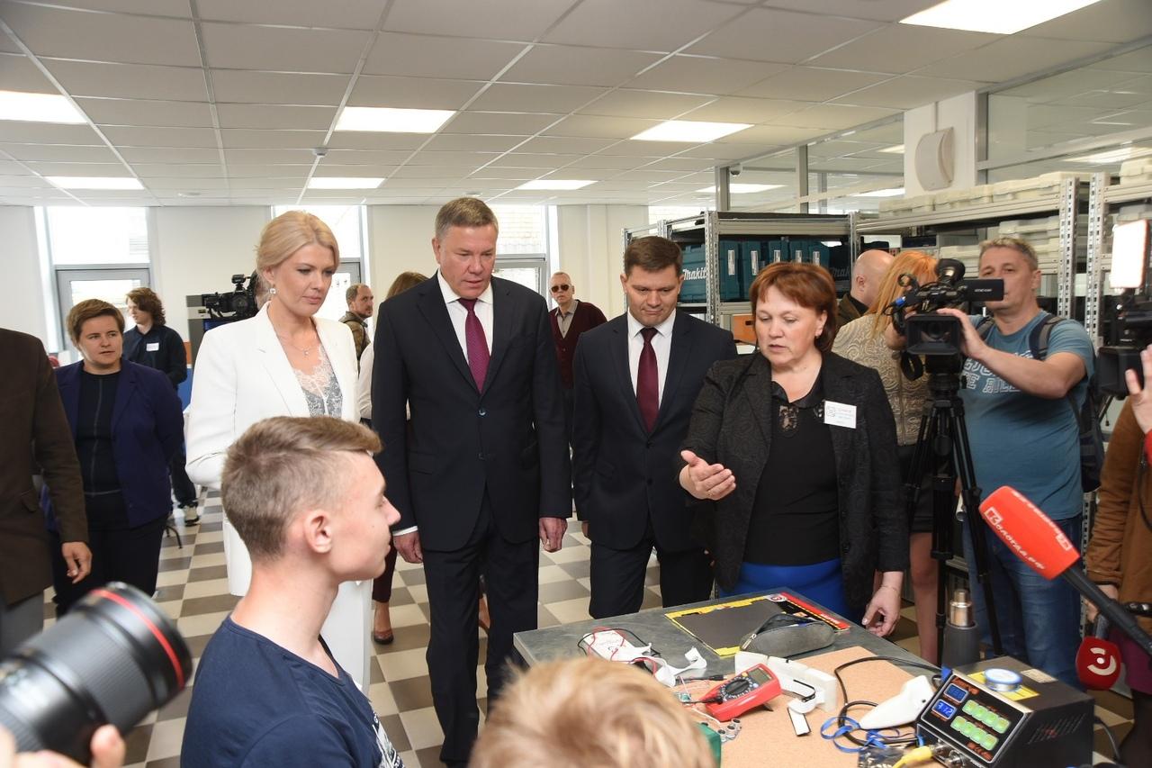В Вологде состоялось открытие «Кванториума»