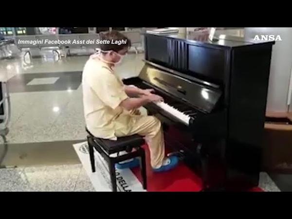Coronavirus, il medico pianista suona i Queen dopo il...