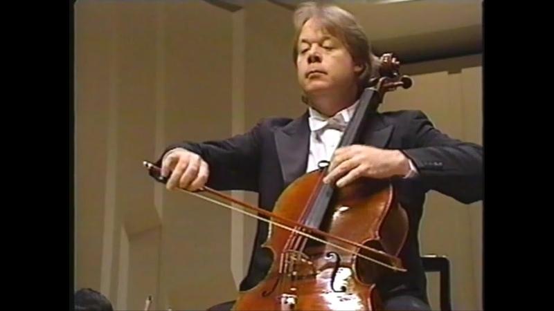 ハイドン チェロ協奏曲第2番 チェロ:リン・ハレル クロブチャール指揮 N
