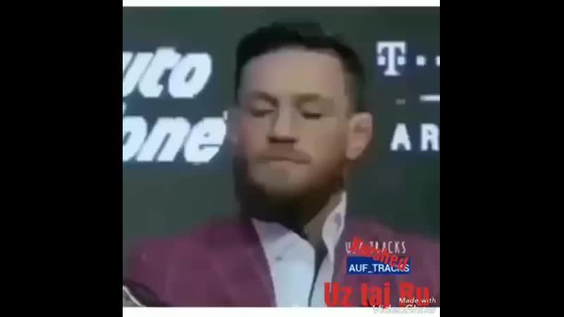 Что с Конор МакГрегор прикол видео ролик смотри позор Конор дурацкий шутки на UFS MMA