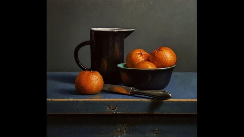 Tangerine still life DEMO