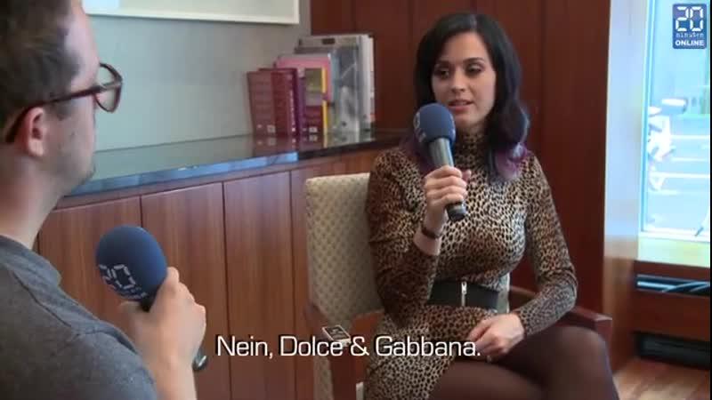 Интервью для издания 20 Minuten ноябрь 2010