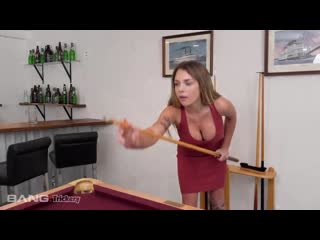 [Bang Trickery] Gabbie Carter - Is A Pool Shark That Is Looking For Some Dick
