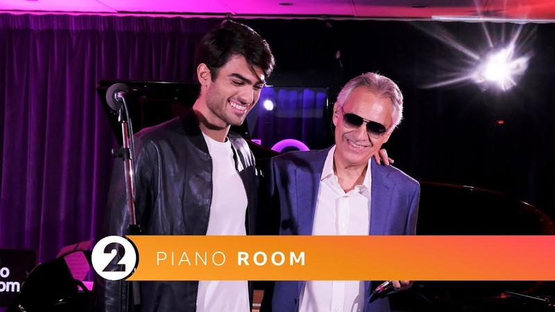 Andrea Matteo Bocelli - Perfect Symphony (Ed Sheeran Cover) Radio 2 Piano Room