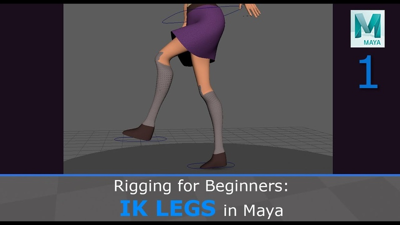 Rigging for Beginners: IK Legs in Maya