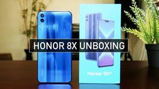 Honor 8X Unboxing SUPER GORGEOUS Quick Look & Hands-On | Zeibiz