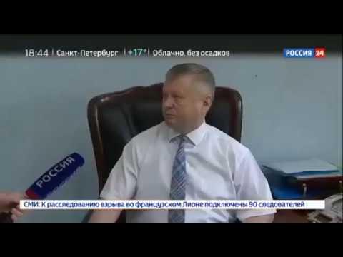 Глава Ширинского района республики Хакасия Сергей Зайцев напал на съемочную группу «России 24» !