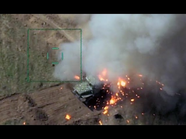 Ракеты пошли Генералы армян в шоке Азербайджан подорвал Пехоту унесло прорыв