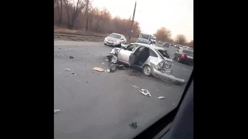 Страшная авария в Новотроицке