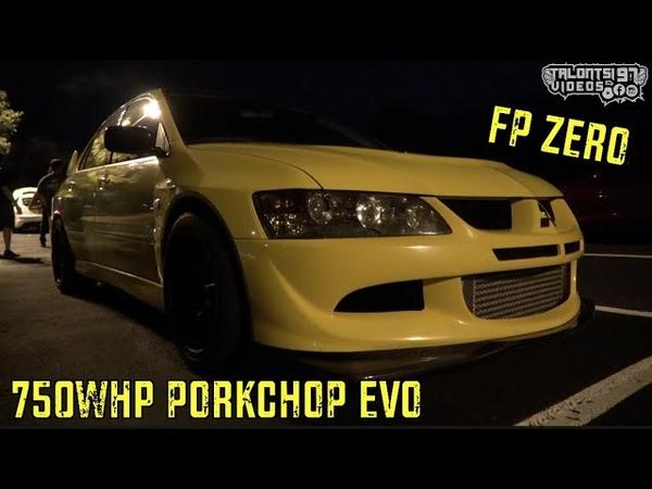 750whp PORKCHOP EVO Gear Banging 60-130s, 1st Gear Rolls, Coyote Hellcat Roll Dig Racing