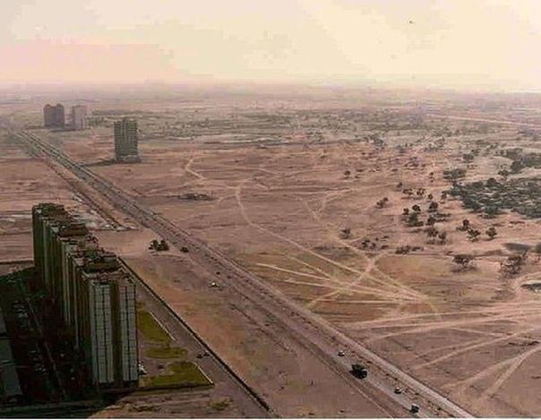 Так выглядел Дубай в 1991 году А сейчас видели фото этого суперсовременного города .Спасибо за и подписку