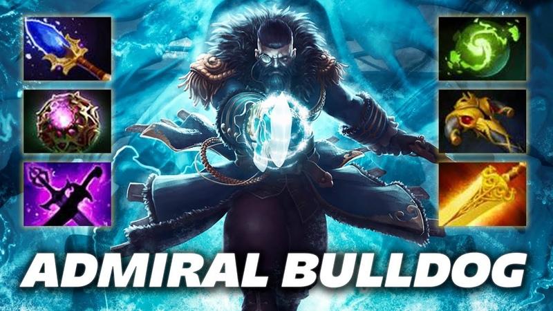 AdmiralBulldog Kunkka EPIC ITEM BUILD Dota 2 Pro Gameplay