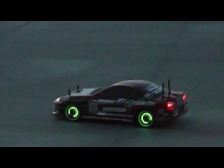 Awesome lights for RC Drift Car shell and wheels