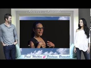 Jordana Brewster & Paul Walker  Memories from the Heart