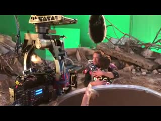 Бэкстейдж встречи Человека-Паука и Железного Человека после щелчка Таноса Рифмы и Панчи